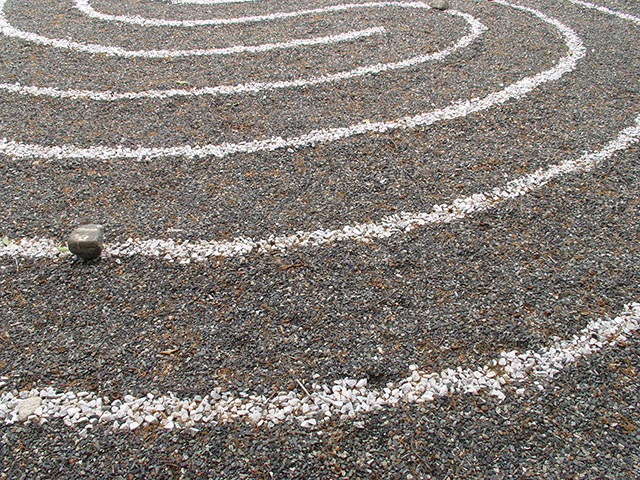 Labyrinth, First Parish in Framingham MA – Judy Perry (designer)