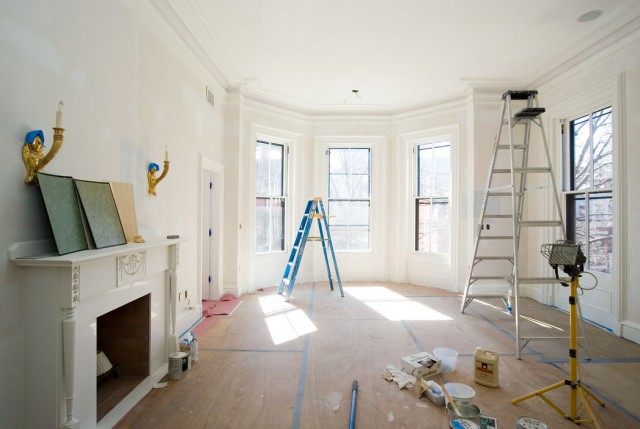 Beacon Hill Residence Interior Progress – Catchlight, Inc. Fine Residential Painting