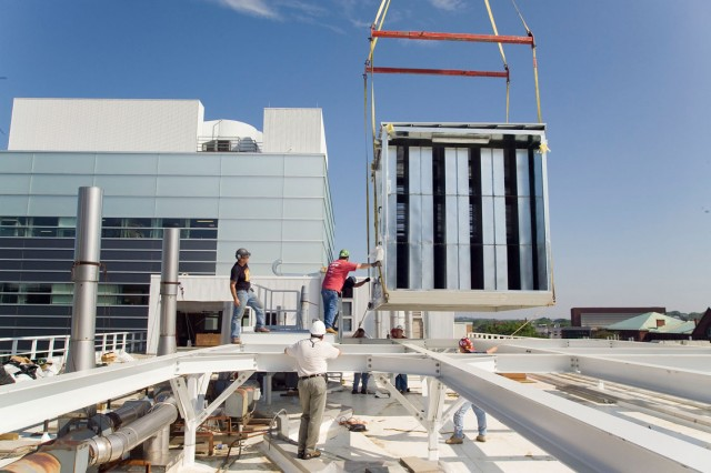 HVAC Installation at Harvard's Gordon McKay Lab of Applied Science – Elaine Construction (GC), CES Group, Inc. (HVAC equipment)