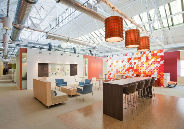 Bright Horizons Offices, Watertown MA 212267, CBT Architects, R.G. Vanderweil Engineers