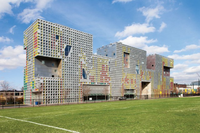 MIT's Simmons Hall, Cambridge MA 214341-077, Steven Holl Architects