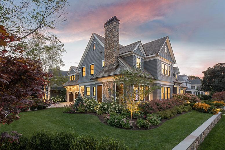 Lexington Home at Dusk