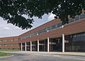 Before: This building had been unoccupied for six months and looked a bit worn. The landscaping was in poor shape, there were no flowers and the asphalt drive had not been recently sealed. In addition, the brick had streaks from effervescence.