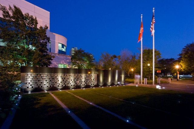 Veterans Memorial, Northeastern University, Boston MA – Bauen Studio (architect), Pressley Associates (landscape architect)