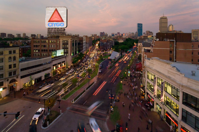 Kenmore Square, Boston MA – Pressley Associates (landscape architect)