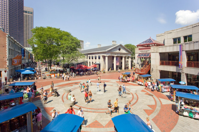 Faneuil Hall, Boston MA – Pressley Associates (landscape architect)