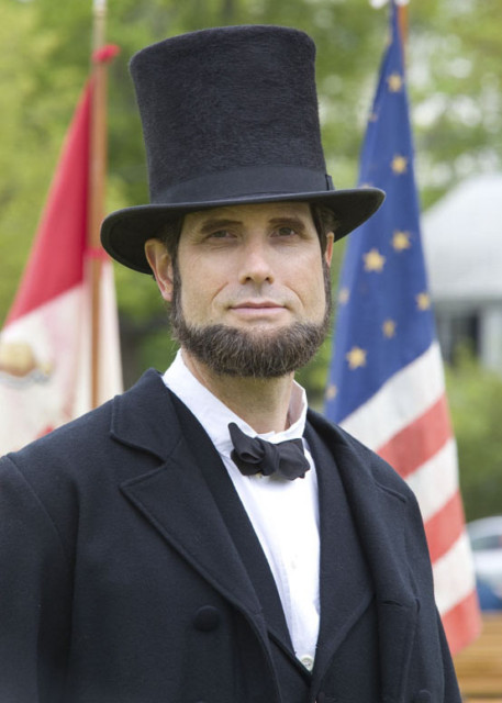 Civil War Re-Enactor