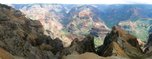 Waimea Canyon Panorama II - 213349