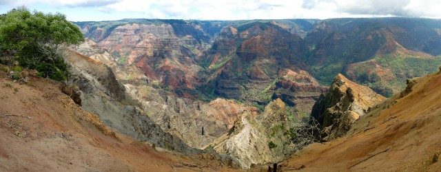 Waimea Canyon Panorama III - 213349