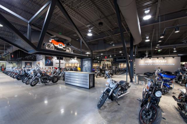 Harley-Davidson, Revere MA 214350-009, J. Calnan & Associates (GC)
