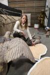 Eagle Sculpture by Ann Hirsch