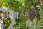 Christie Dustman Garden - Aerial View